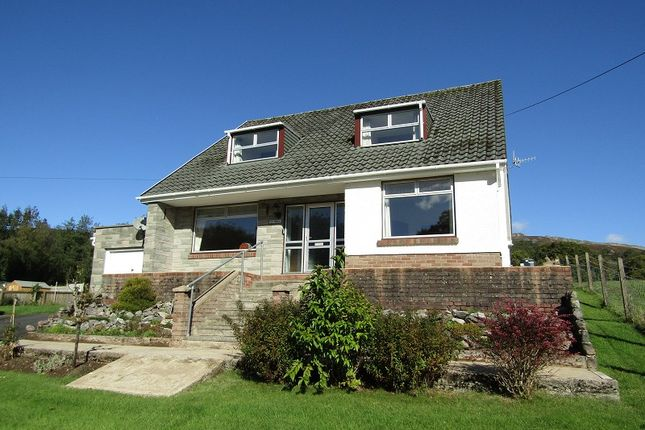Thumbnail Detached bungalow for sale in Brecon Road, Abercrave, Swansea.