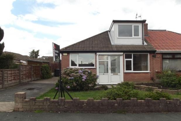 Thumbnail Semi-detached bungalow to rent in Grasscroft Road, Hindley Green, Wigan
