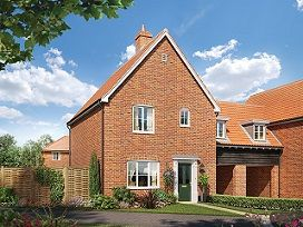 Thumbnail Semi-detached house for sale in The Augustine At St James Park, Off Cam Drive, Ely