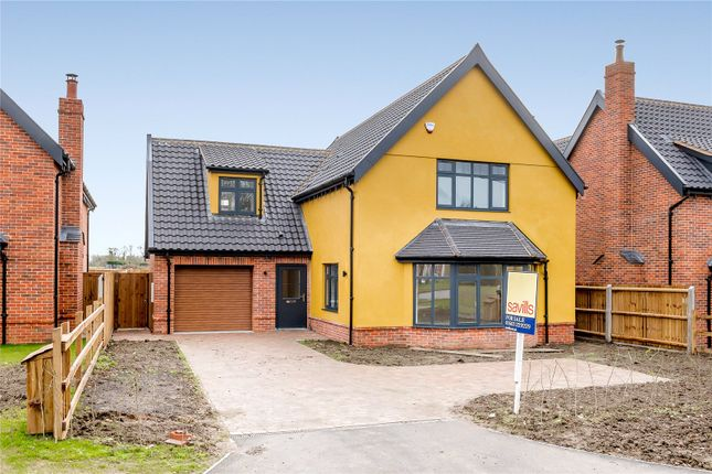 Thumbnail Detached house for sale in Plot 3, Burston Road, Dickleburgh, Diss