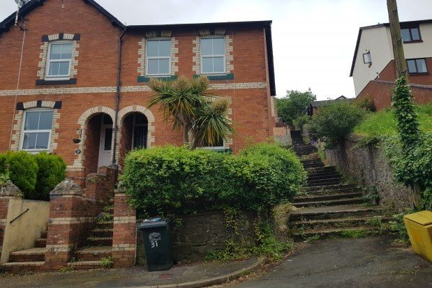 Thumbnail End terrace house to rent in Spencer Road, Newton Abbot