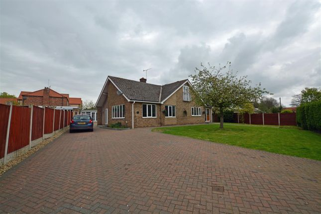 Thumbnail Detached bungalow for sale in Beck Lane, Appleby, Scunthorpe