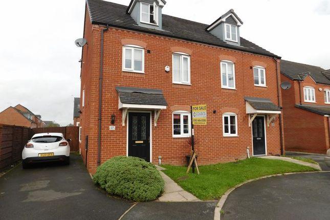 Thumbnail Semi-detached house for sale in North Dene Park, Chadderton, Oldham