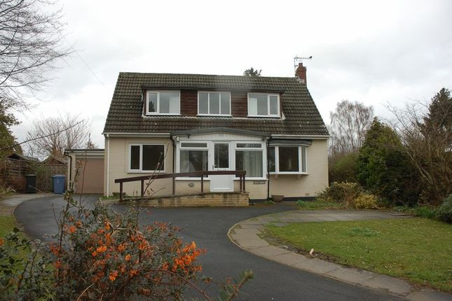 Thumbnail Detached bungalow to rent in Western Way, Darras Hall, Newcastle Upon Tyne