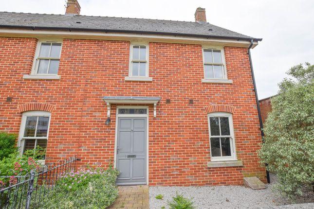 Thumbnail End terrace house for sale in Bunbury Terrace, All Saints Road, Newmarket