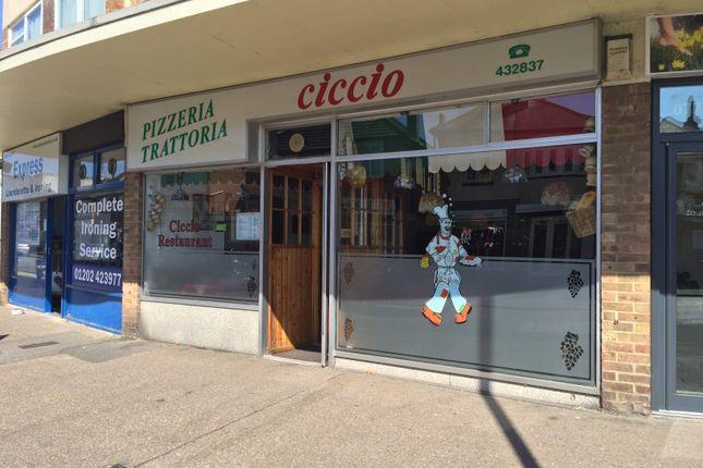 Thumbnail Restaurant/cafe to let in Italian Restaurant, Bournemouth