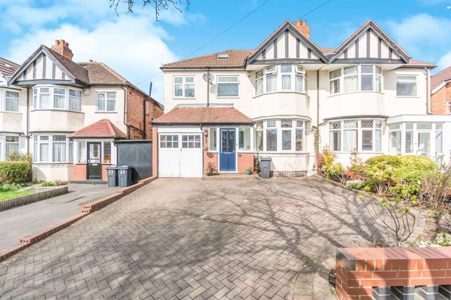 Thumbnail Semi-detached house for sale in Green Bank Avenue, Hall Green, Birmingham