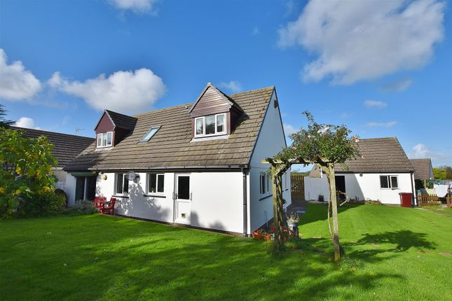Thumbnail Detached bungalow for sale in Deer Park Close, Tiers Cross, Haverfordwest