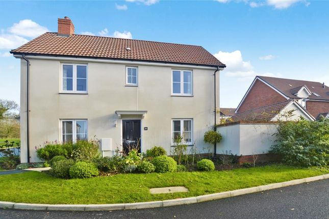 Thumbnail Detached house for sale in Webbers Meadow, Woodbury, Exeter, Devon