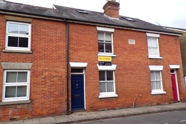 Thumbnail Terraced house to rent in Cherville Street, Romsey