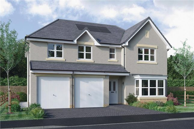 "Thumbnail Detached house for sale in ""Kinnaird"" at Dedridge East Industrial Estate, Abbotsford Rise, Livingston"