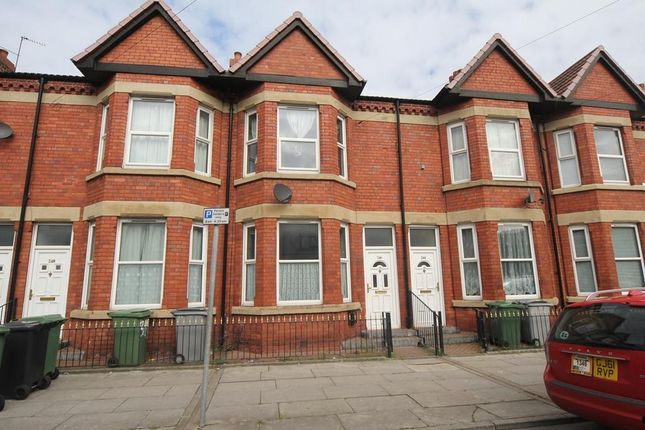 Thumbnail Terraced house to rent in Claughton Road, Birkenhead, Wirral