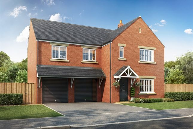 "Thumbnail Detached house for sale in ""The Turner "" at Hounsfield Way, Sutton-On-Trent, Newark"