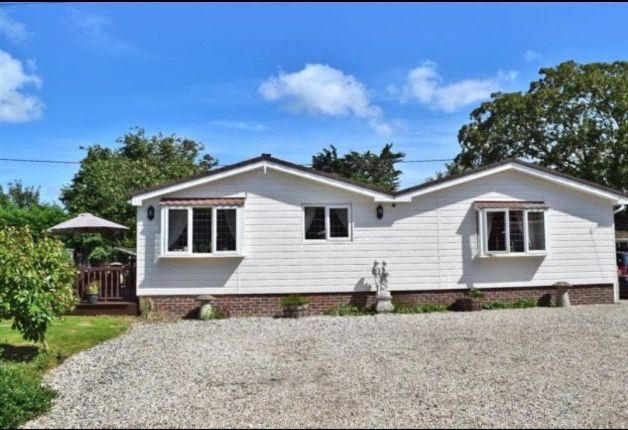 Thumbnail Mobile/park home for sale in The Paddocks, Northfields Lane, Westergate, Chichester, West Sussex