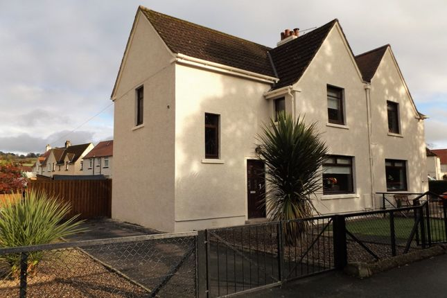 Thumbnail Semi-detached house for sale in Irvine Road, Newmilns