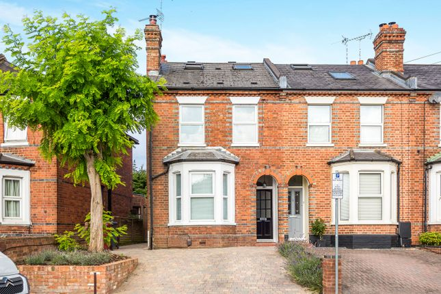 Thumbnail End terrace house to rent in Hemdean Road, Caversham, Reading