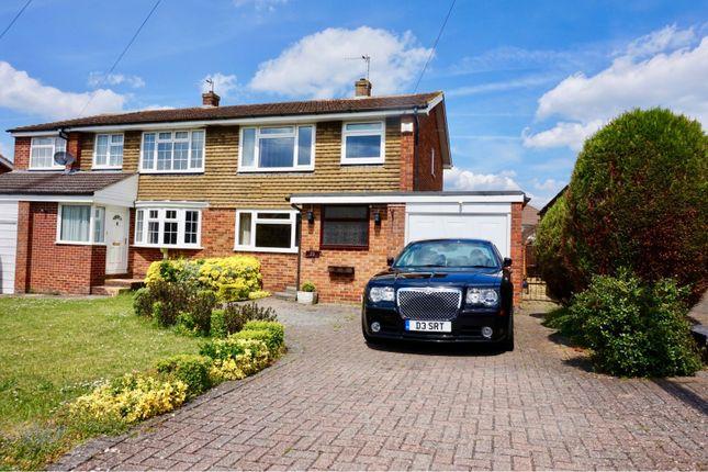 Thumbnail Semi-detached house to rent in Carlisle Close, Basingstoke