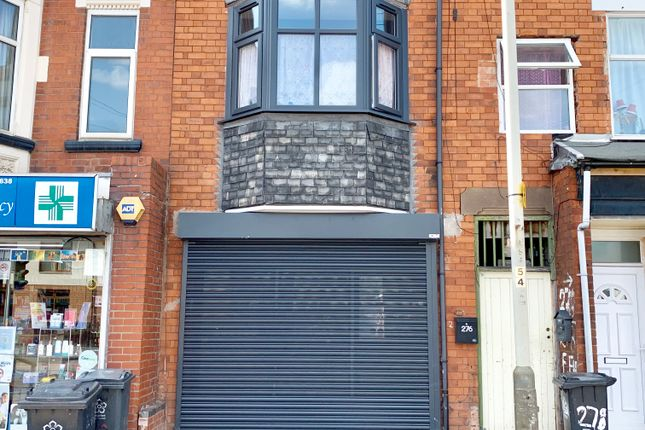 Thumbnail Retail premises for sale in Victoria Road East, Leicester