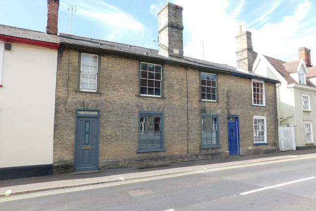 Thumbnail Terraced house for sale in Tavern Street, Stowmarket