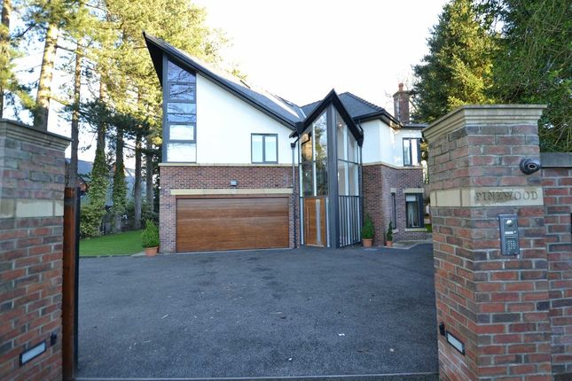 Thumbnail Detached house for sale in Wilmslow Park South, Wilmslow