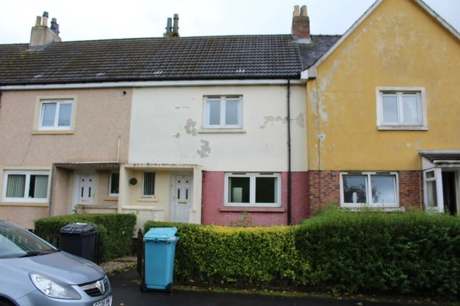 Thumbnail Terraced house to rent in South Commonhead Road, Airdrie