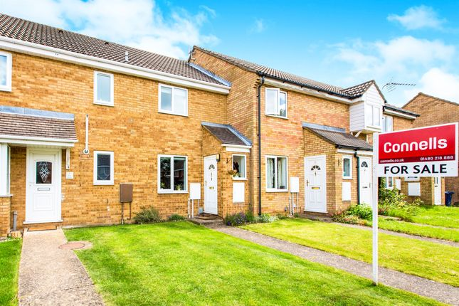 Terraced house for sale in William Drive, Eynesbury, St. Neots