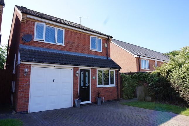 Thumbnail Detached house for sale in Horton Court, Leicester