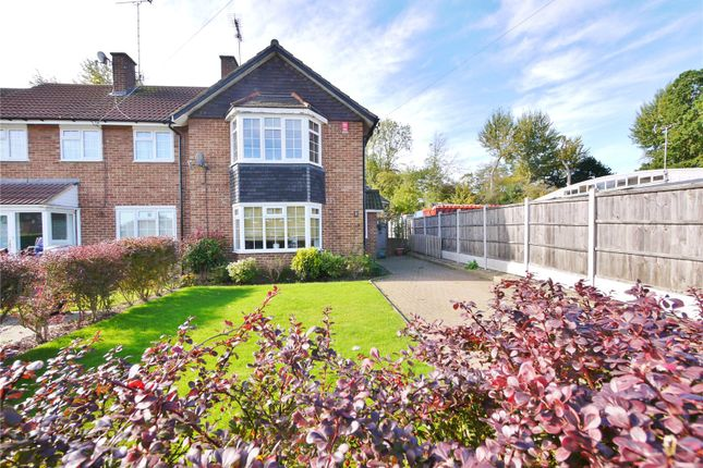 Thumbnail End terrace house for sale in Knights Way, Brentwood, Essex