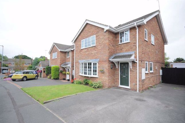 Thumbnail Detached house for sale in Hardwick Close, Stoke-On-Trent