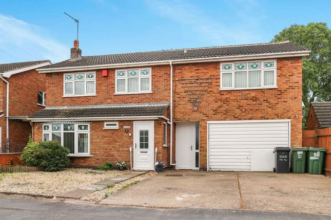 Thumbnail Detached house for sale in Goodes Lane, Syston