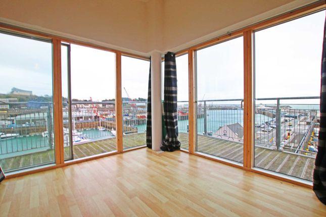 Thumbnail Penthouse to rent in La Route Du Port Elizabeth, St. Helier, Jersey