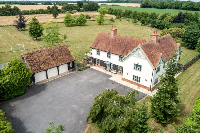 Front Elevated of Marks Hall Lane, White Roding, Dunmow, Essex CM6