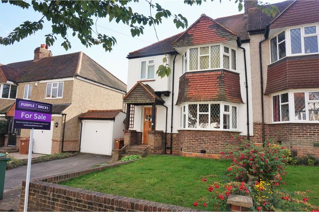 Thumbnail Semi-detached house for sale in Farmdale Road, Carshalton