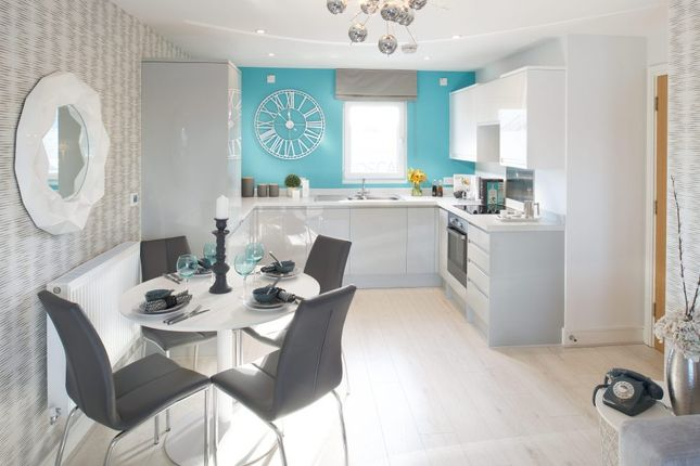 Thumbnail 2 bed flat for sale in Plot 110, Meridian Waterside, Radcliffe Road, Southampton