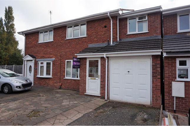 Thumbnail Semi-detached house for sale in Marlowe Drive, Willenhall