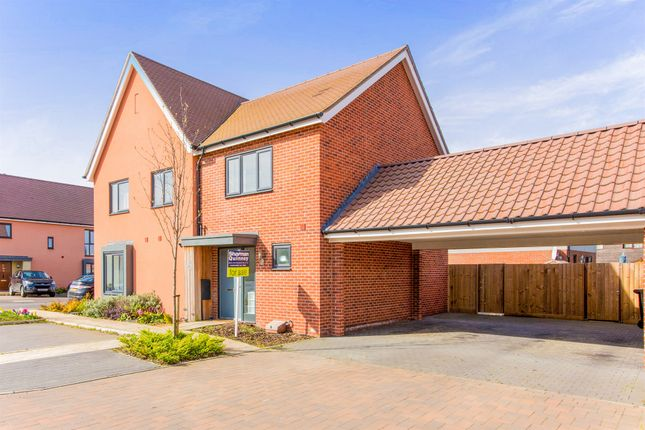 2 bed semi-detached house for sale in Hudson Road, Upper Cambourne, Cambridge