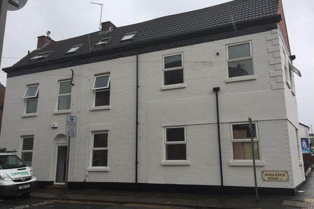 Thumbnail Duplex to rent in Anglesea Road, Walton