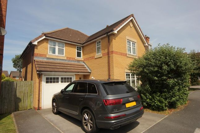Thumbnail 4 bed detached house to rent in Glamis Close, Prenton, Wirral
