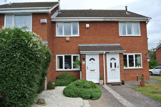 Thumbnail Terraced house for sale in Mercia Drive, Leegomery, Telford, Shropshire.