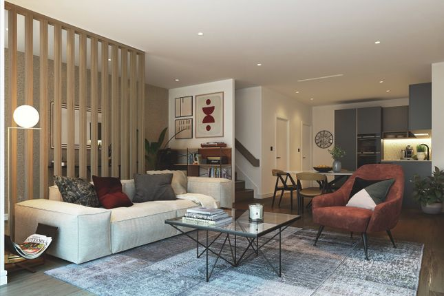 Thumbnail Town house for sale in Glenthorne Road, Hammersmith