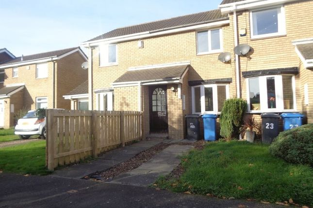 Thumbnail Terraced house to rent in Castle Way, Pegswood, Morpeth