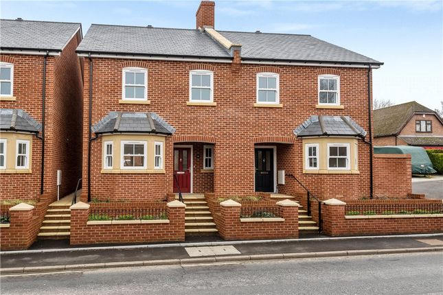 Thumbnail Semi-detached house for sale in Marks Yard, Victoria Road, Wimborne
