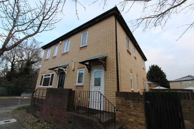 Thumbnail Semi-detached house to rent in Camelot Close, Thamesmead