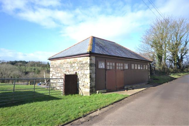 Thumbnail Detached house for sale in Opposite Blue Arch Barn, Callington, Cornwall