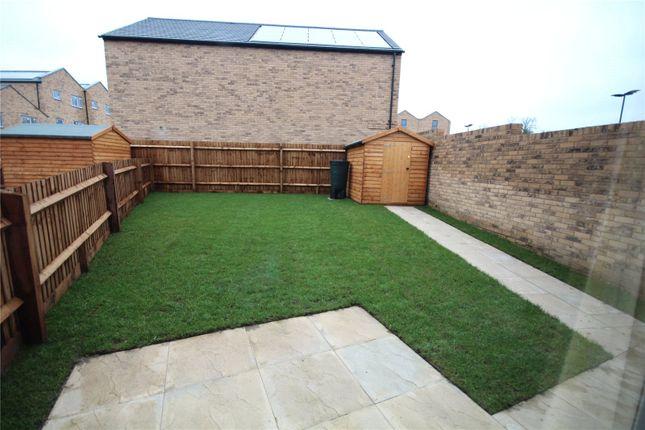 Show Home Garden of Harrow View West, Harrow View, Harrow, Middlesex HA2