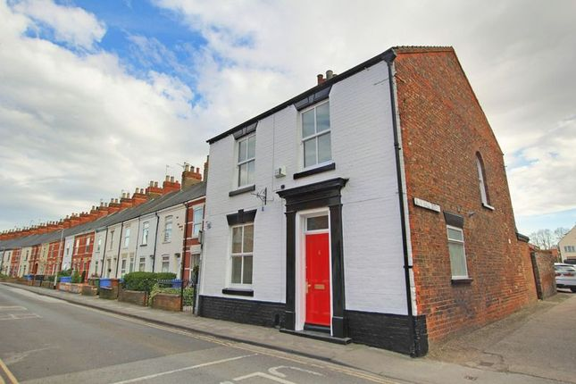 Thumbnail End terrace house for sale in George Street, Hedon, Hull