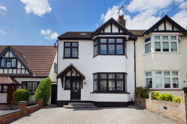Thumbnail Semi-detached house for sale in Marine Avenue, Leigh-On-Sea