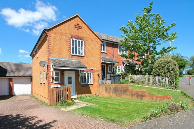 Thumbnail End terrace house for sale in Chineham Way, Canterbury