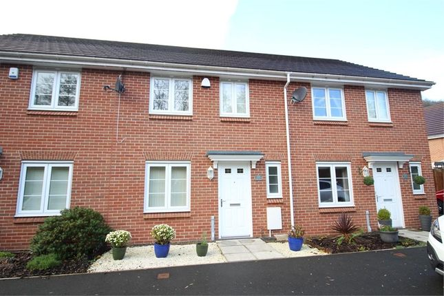 Thumbnail Terraced house for sale in Mill-Race, Abercarn, Newport