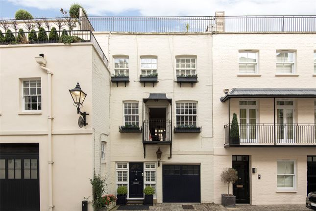 Thumbnail Terraced house for sale in Eaton Mews South, Belgravia, London